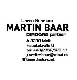 Logo von Uhren Schmuck Martin Baar