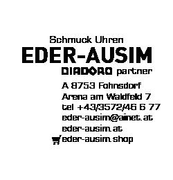 Logo von Schmuck Uhren Eder-Ausim