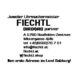 Logo von Juwelier Uhrmachermeister Fiechtl